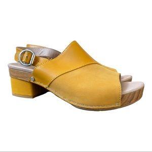 Dansko New Women's Sandal Madalyn Leather Mango size 38
